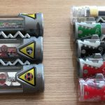 ショッキングな出来事、獣電池のサイズが日本とアメリカで違ってた!